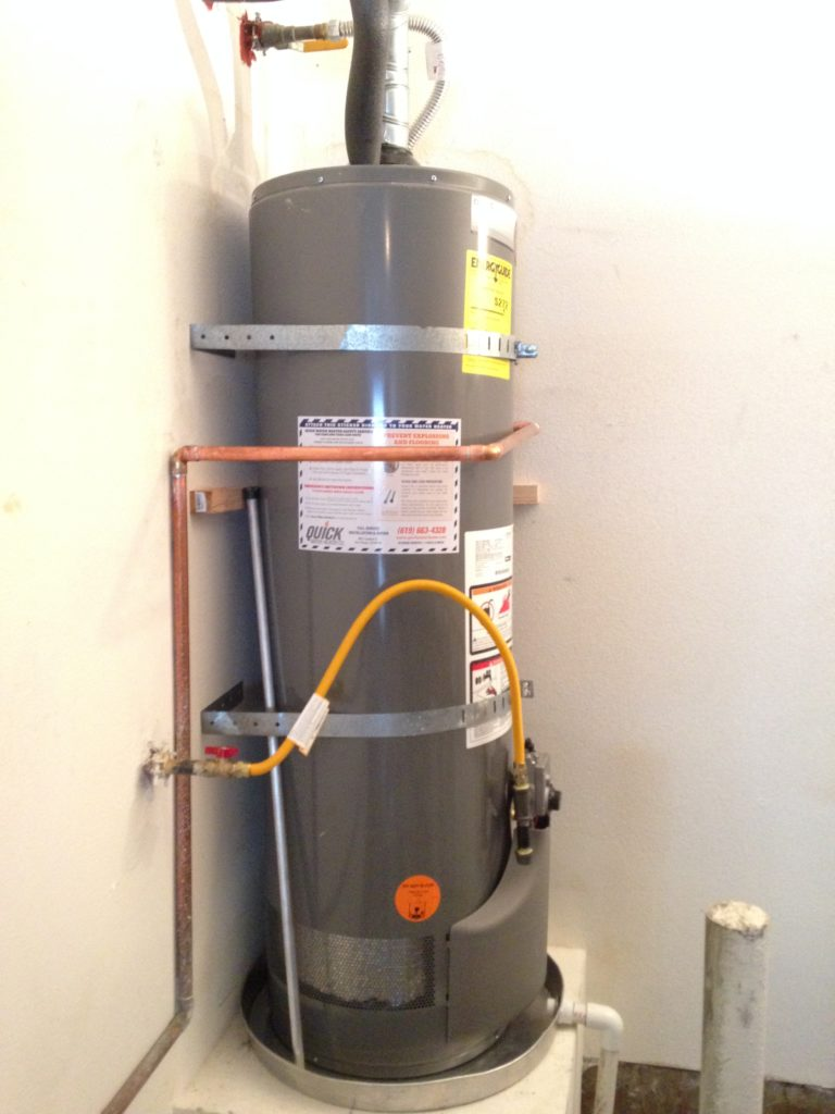 Water Heater Gas North County Plumbing Palm Beach